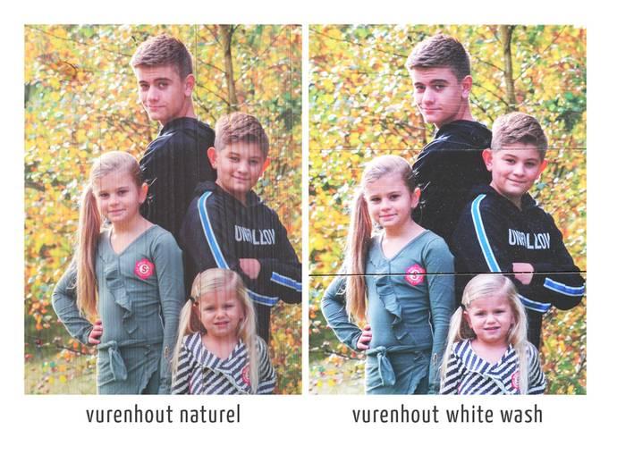 Vurenhout naturel vs whitewash